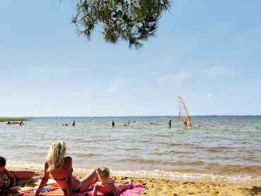 acces-direct-camping-le-lac-de-sanguinet-lac-de-cazaux-sanguinet